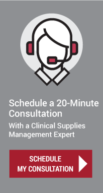 Schedule a 20-Minute Consultation With a Clinical Supplies Management Expert